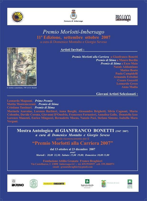 Mostra Antologica di Gianfranco Bonetti