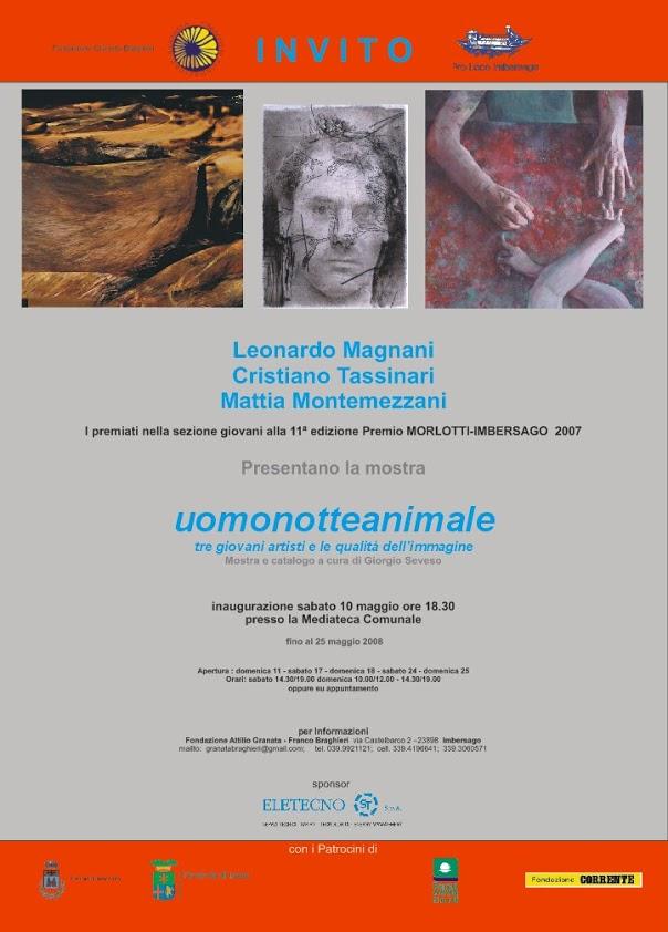 Uomonotteanimale di Leonardo Magnani – Mattia Montemezzani – Cristiano Tassinari