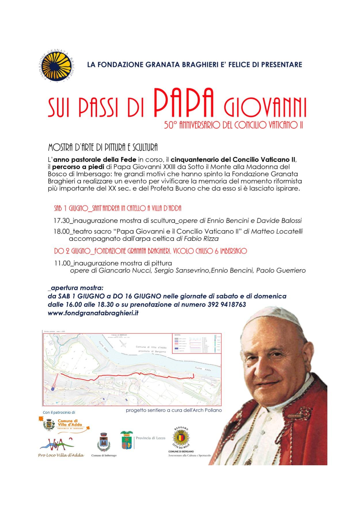 Sui passi di Papa Giovanni