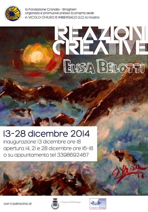 Reazioni creative di Elisa Belotti