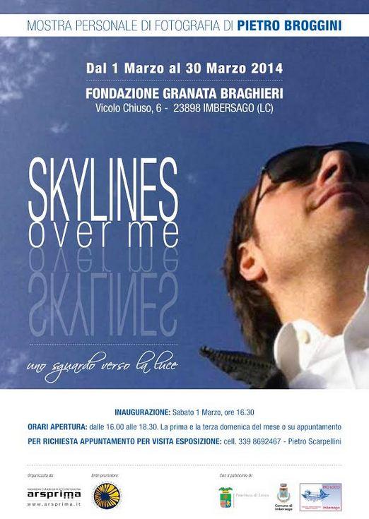 Sky lines over me di Pietro Broggini
