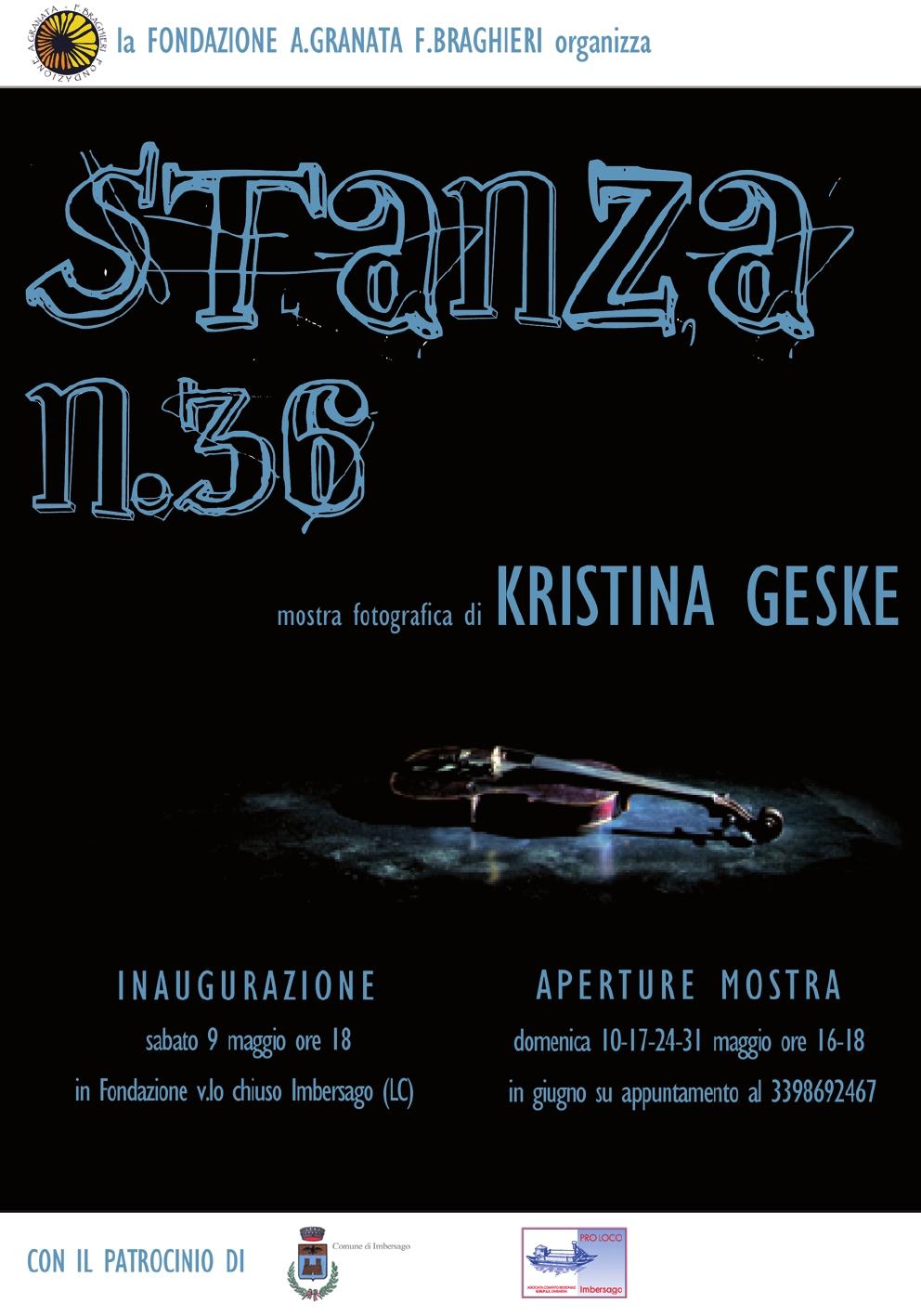 Stanza n° 36 di Kristina Geske