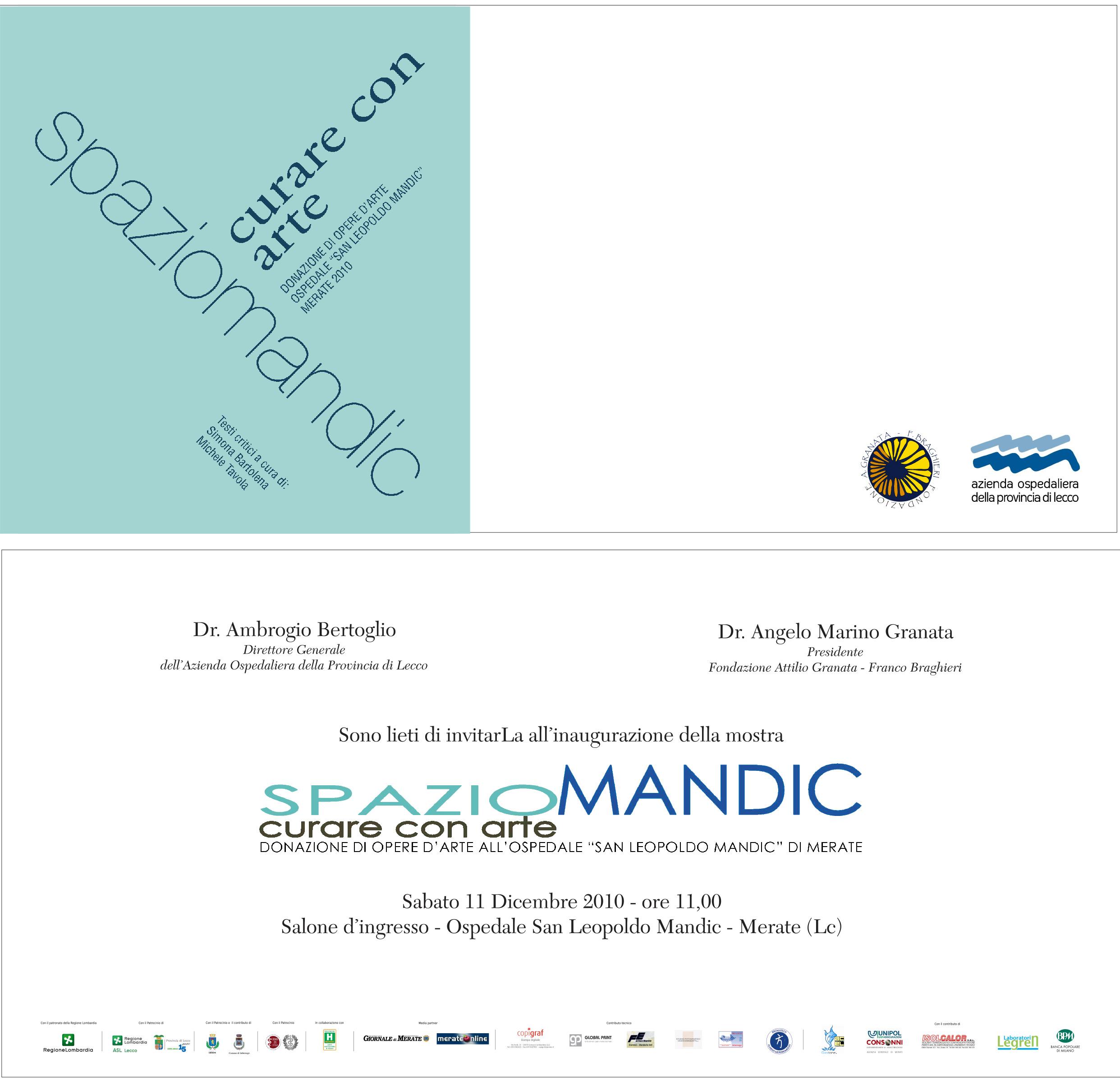 Progetto Spazio Mandic curare con arte