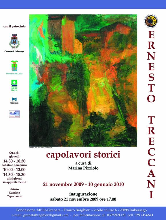 Capolavori storici di Ernesto Treccani