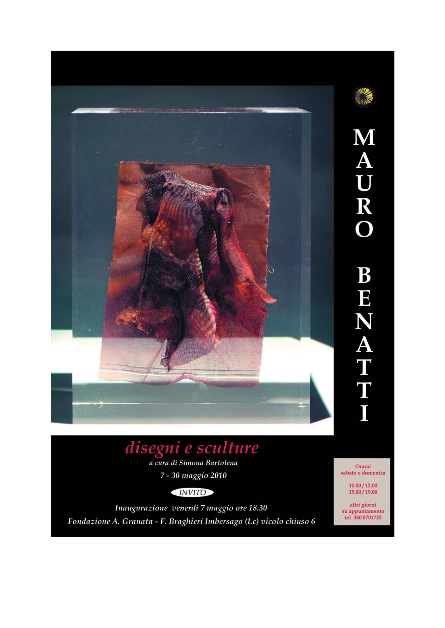 Disegni e sculture di Mauro Benatti